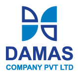 Logo of Damas Company Pvt Ltd