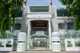The President's Office in Male' City. PHOTO: PRESIDENT'S OFFICE