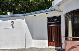 The entrance to the Criminal Court. A man was found guilty of theft by deception. PHOTO: MIHAARU FILES