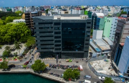Maldives Monetary Authority (MMA) in the capital city of Male'. PHOTO: NISHAN ALI/ MIHAARU