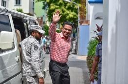 Former Defence Minister Nazim. PHOTO: NISHAN ALI / MIHAARU