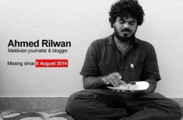 Ahmed Rilwan, a journalist of Maldives Independent, has been missing since August 8, 2018.