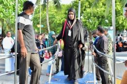 Hajjaajees Leaving for Hajj on 15th August 2016