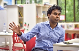 "Renowned scientist and mathematician Professor Hassan Ugail says his foray into Artifical Intelligence was ""only natural"" as part of his childhood curiosity in mathematics and science. PHOTO: NISHAN ALI / MIHAARU"