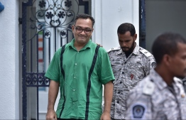 """Ahmed """"Papa"""" Fayaz: he was released June 12, 2018 after completing a two-year jail sentence. PHOTO: NISHAN ALI/MIHAARU"""
