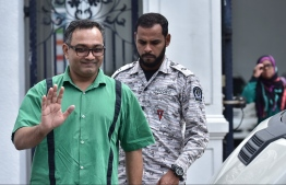 Ahmed Fayaz was released June 12, 2018 after completing a two-year jail sentence. PHOTO: NISHAN ALI/MIHAARU