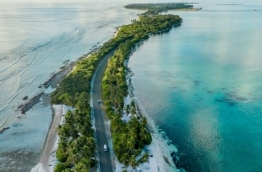 Addu City Highway. PHOTO: NAJ