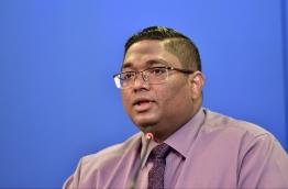 Former Attorney General Mohamed Anil. PHOTO: NISHAN ALI/ MIHAARU