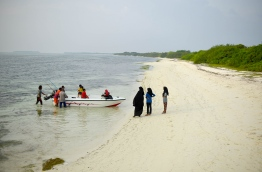 A photograph of the beach in Molhadhoo, Haa Alif Atoll. PHOTO: ABDULLA AURAF / MIHAARU