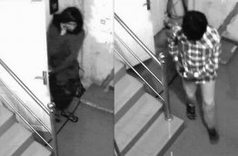 Two suspects charged with Yameen Rasheed's murder caught on CCTV camera footage.