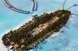 Mövenpick Resort & Spa on Kuredhivaru Island in the Maldives. PHOTO: MOVENPICK