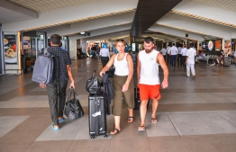 Velana International Airport - Tourists & Passengers. PHOTO: MIHAARU