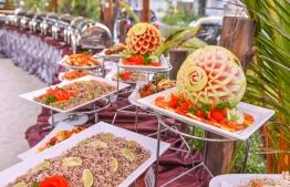2017 Iftar buffet at Ocean Grand Restaurant. PHOTO: HUSSAIN WAHEED/MIHAARU