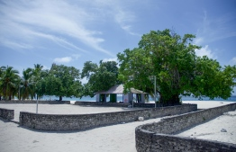 The island of Kinolhas, Raa Atoll. One of their council members was found dead on Wednesday night. PHOTO: MIHAARU / HUSSAIN WAHEED.