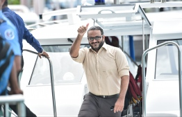 Ex Vice President Ahmed Adeeb summoned to Criminal Court. FILE PHOTO/MIHAARU