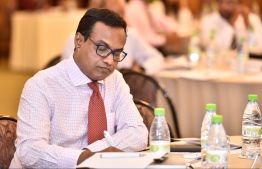 The former judicial administrator Hassan Saeed has been appointed as the Resident Deputy High Commissioner of Maldives to Pakistan. FILE PHOTO: NISHAN ALI / MIHAARU