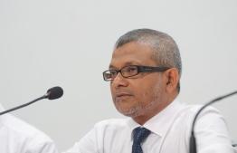 Maldives Broadcasting commission BroadCom Press Briefing - Mohamed Shaheeb