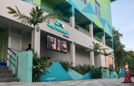 Schwack Cinema in Hulhumale'. FILE PHOTO/MIHAARU