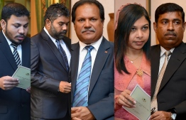 Members of the Civil Service Commission. PHOTO: MIHAARU
