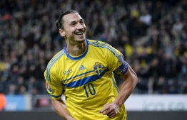 Swedish Football Association is set to unveil a bronze statue of Zlatan Ibrahimovich in his hometown of Malmo, on October 8. PHOTO: AFP