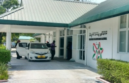 Kulhudhuffushi Regional Hospital. PHOTO/MIHAARU