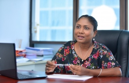 Thulhaadhoo MP Hisaan Hussain. She states that she will not partake in any issues related to JSC in the parliamentary commission. PHOTO: HUSSAIN WAHEED/ MIHAARU