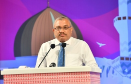 Former Vice President Abdulla Jihad. PHOTO: PRESIDENT'S OFFICE