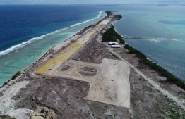 Maafaru International Airport Located in Noonu Atoll. PHOTO:MIHAARU