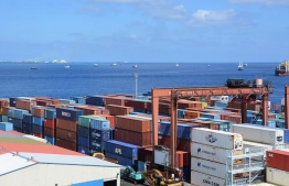 Male Commercial Harbor. PHOTO/CUSTOMS