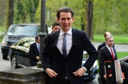 Austrian Foreign Minister Sebastian Kurz said he was sceptical about the impact of a recent agreement with Turkey aimed at reducing the number of migrants travelling to the EU (AFP Photo/Tobias Schwarz )