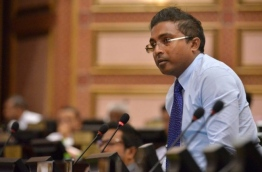 Maafaanu South MP and member of ruling Progressive Party of Maldives (PPM) Abdulla Rifau pictured during a parliament sitting. FILE PHOTO/PARLIAMENT SECRETARIAT