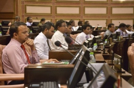 Some lawmakers pictured during a parliament sitting. PHOTO/PARLIAMENT SECRETARIAT