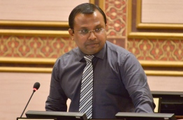 Former police commissioner who is now the MP for Kinbidhoo constituency pictured at a Parliament sitting. FILE PHOTO/PARLIAMENT SECRETARIAT