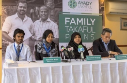 Allied Insurance officials pictured at the press conference to announce the launch of its new family insurance plans.PHOTO/ALLIED