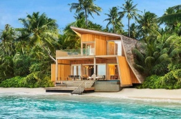 The resort St. Regis Maldives being developed in the island of Vommuli in Dhaalu atoll is set to be unveiled September 1.