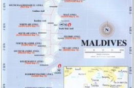 Map of Maldives © Atoll Editions, Atlas of the Maldives, A reference for travellers, divers and sailors, 4th edition, Victoria, Australia