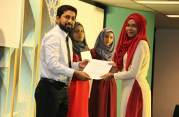 President Yameen appointed little known deputy education minister Azleen Ahmed as the home minister on Monday. MIHAARU FILE PHOTO
