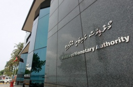 Maldives Monetary Authority (MMA) building in the capital Male. MIHAARU FILE PHOTO/MOHAMED SHARUHAAN