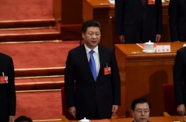 Already China's most powerful leader in decades, President Xi Jinping will probably seek to extend his term to more than 10 years, analysts say on August 2016, the first Communist Party chief to do so since Deng Xiaoping. / AFP PHOTO / WANG ZHAO / TO GO WITH AFP STORY CHINA-POLITICS-GOVERNMENT-XI,FOCUS