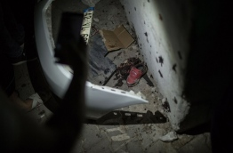 The governor of Gaziantep said 22 people are dead and 94 injured in the late night militant attack. / AFP PHOTO / AHMED DEEB