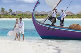 "Promotional poster for Maldives tourism used in the ""Visit Maldives Year 2016"" tourism promotion campaign. PHOTO/VISIT MALDIVES"