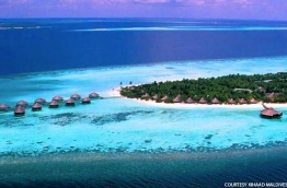 Aerial view of Kihaad Maldives resort in Baa atoll. PHOTO/KIHAAD MALDIVES