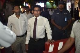 Deputy Leader of Maumoon Faction of PPM Waheedh PHOTO:Mohamed Sharuhaan/Mihaaru