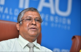 Former CEO of Maldives Pension Administration Office (MPAO) Mohamed Hussain Manik. PHOTO: MIHAARU
