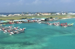 Aerial view of the current seaplane terminal in INIA. FILE PHOTO/MACL