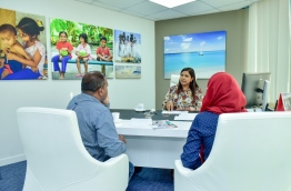 Education Minister's exclusive Interview with Mihaaru. PHOTO:Nishan Ali/Mihaaru