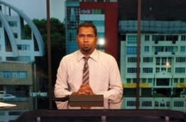 Ministry of Home Affairs' Executive Coordinator Mohamed Shakeeb, who is charged with negligence over the murder of Mohamed Ibthihaal of Vaavu atoll Raakeedhoo island.