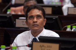 PPM parliament majority leader and Villimale MP Ahmed Nihan.