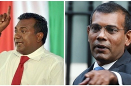 Composite image of Former President Mohamed Nasheed (R) and Yacht Tours' chairman Abdulla Jabir.