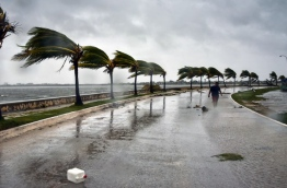 Irma's blast through the Cuban coastline weakened the storm to a Category Three, but it is still packing 125 mile-an-hour winds (205 kilometer per hour) and was expected to regain power before hitting the Florida Keys early Sunday, US forecasters said. The Cuban government extended its maximum state of alert to three additional provinces, including Havana, amid fears of flooding in low-lying areas. / AFP PHOTO / ADALBERTO ROQUE